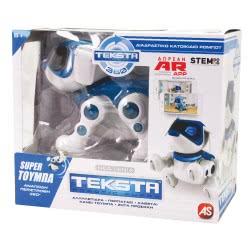 Silverlit Teksta 360 Robotic Puppy Διαδραστικό Κατοικίδιο Σκύλος - Ρομπότ 1030-51557 038521515574