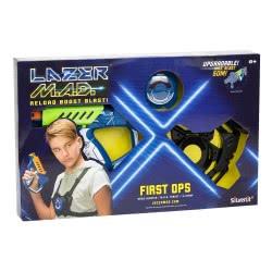 Silverlit Laser M.A.D. First Ops Σετ Ηλεκτρονικό Όπλο Λέιζερ - 2 Σχέδια 7530-86844 4891813868446