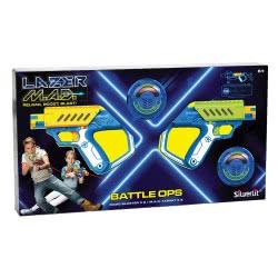 Silverlit Laser M.A.D. Battle Ops Σετ 2 Ηλεκτρονικά Όπλα Λέιζερ 7530-86845 4891813868453
