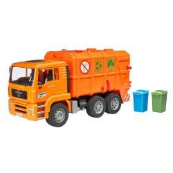 bruder MAN TGS Απορριματοφόρο Πορτοκαλί BR002760 4001702027605