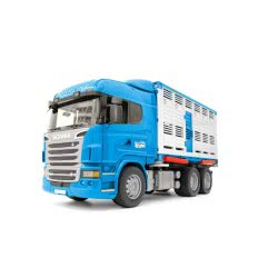 bruder Scania R-Series Highline R620 Φορτηγό Μεταφοράς Ζώων BR003549 4001702035495