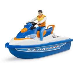 bruder Jet Ski With Driver BR063150 4001702631505
