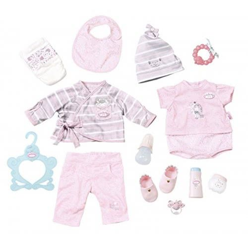 f55f4ed7d4c Zapf Creation Baby Annabell Σετ Ρούχων Deluxe Special Care με 13 Αξεσουάρ  ZF700181