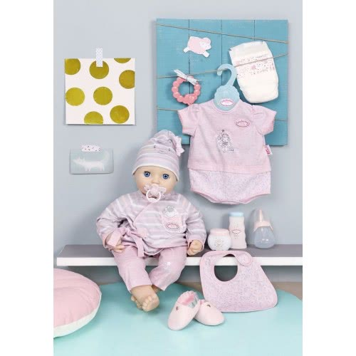 8bd15801aad Zapf Creation Baby Annabell Σετ Ρούχων Deluxe Special Care με 13 ...