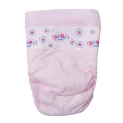 Zapf Creation Baby Born Nappies - Pack Of Five ZF815816 4001167815816