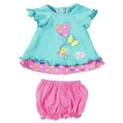 Zapf Creation Baby Born Baby Dresses Butterfly - 2 Designs ZF823552 4001167823552