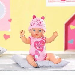 Zapf Creation Baby Born Interactive Doll With Soft Skin And Accessories 43 Cm ZF824368 4001167824368