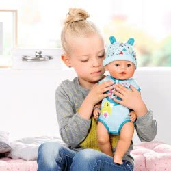 Zapf Creation Baby Born Interactive Doll - Boy With Soft Skin And Accessories 43 Cm ZF824375 4001167824375