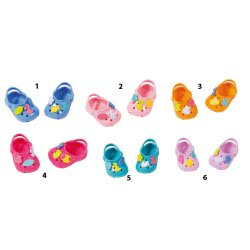 Zapf Creation Baby Born Shoes With Pins - 6 Designs ZF824597 4001167824597