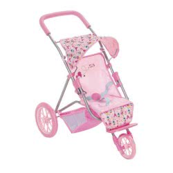 Zapf Creation Baby Born Καρότσι Τρίτροχο Ροζ 58 εκ. ZF825785 4001167825785