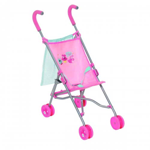 Zapf Creation Baby Born Stroller With Bag, Pink 60 Cm ZF825792 4001167825792