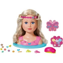 Zapf Creation Baby Born Κεφάλι Sister Styling Head Με 24 Αξεσουάρ Και Μακιγιάζ ZF824788 4001167824788