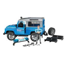 bruder Land Rover Defender Αστυνομικό Όχημα Με Αστυνόμο BR002597 4001702025977