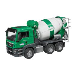 bruder MAN TGS Μπετονιέρα Πράσινη BR003710 4001702037109