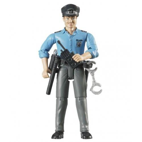 bruder Άνδρας Αστυνομικός Με Αξεσουάρ BR060050 4001702600501