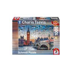 Schmidt Παζλ 1000 Charis Tsevis: Λονδίνο 59579 4001504595791