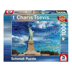 Schmidt Παζλ 1000 Charis Tsevis: New York 59581 4001504595814