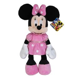 As company Mickey and the Roadster Racers Χνουδωτό Minnie 25 εκ. 1607-01687 5203068016876