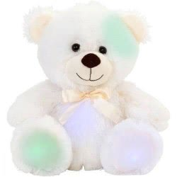 GLOBO Vitamina-G Λούτρινη Πολική Αρκούδα με φως 25εκ 37848 8014966378488
