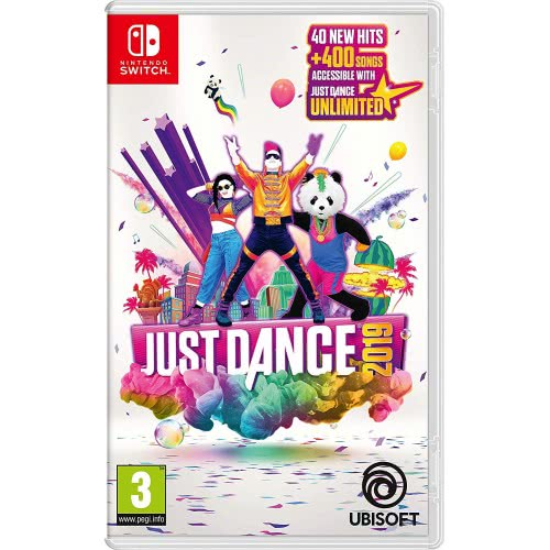 UBISOFT Nintendo Switch Just Dance 2019  3307216081241