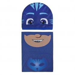 Cerda PJ Masks - Πιτζαμοήρωες Σετ Κασκόλ - Σκούφος Κατμπόι - Μπλε 2200003289 8427934200986