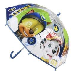 Cerda Paw Patrol Night Vision Transparent Umbrella 45 cm - Blue 2400000342 8427934942541