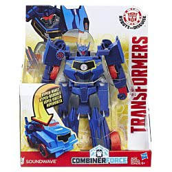 Hasbro Transformers Robots In Disguise Combiner Force 3-Step Changer Soundwave B0067 / C2350 5010993398737