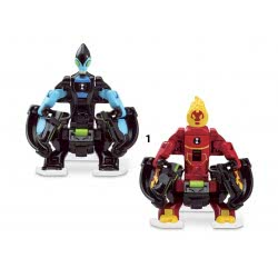 GIOCHI PREZIOSI Ben 10 Omni - Launch Battle Figures - 3 Designs BEN23000 8056379049579