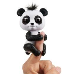 WowWee Fingerlings Glitter Baby Panda Drew - Μαύρο 151324 / Black 771171135647
