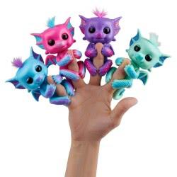 WowWee Fingerlings Baby Dragon Sandy - Ροζ 153862 / Sandy 771171135838