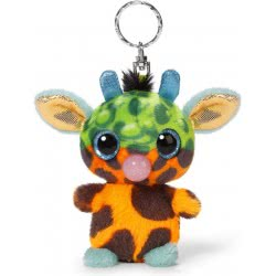 Nici Keyring Plush Giraffe Loomimi Bubble Crazy 9 Cm 805-40433 4012390404333