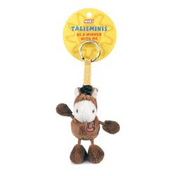 Nici Talisminis Be A Winner With Me Keychain Brown Horse 7 Cm 33685 4012390336856
