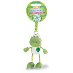 Nici Talisminis Be Lucky With Me Keychain Green Frog 7 Cm 36682 4012390366822