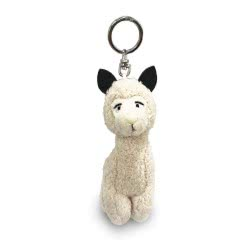 Nici Μπρελόκ Λάμα Alpaca 10 εκ. - Λευκό 42280 4012390422801