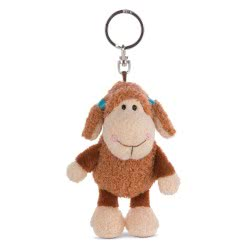 Nici Keyring Sheep Jolly Jo 10 cm - Brown 42181 4012390421811