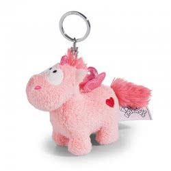 Nici Theodor in Love Keyring Unicorn Merry Heart 10 cm - Pink 41780 4012390417807