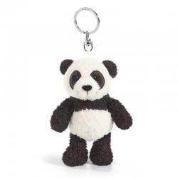 Nici Wild Friends Μπρελόκ Panda Yaa Boo 10 εκ. - Λευκό-Μαύρο 41078 4012390410785