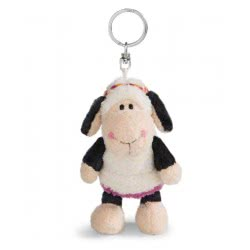 Nici Keyring Sheep Jolly Malou 10 cm - White 41300 4012390413007