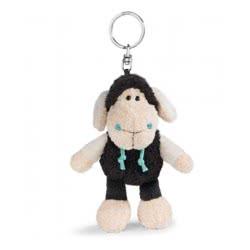 Nici keyring Sheep Jolly Kasi 10 cm - White, Black 41301 4012390413014