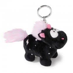 Nici Theodor and Friends Keyring Unicorn Carbon Flash 10 cm - Black 41410 4012390414103