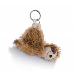 Nici Keyring Sloth Chill Bill 10 Cm - Brown 42540 4012390425406