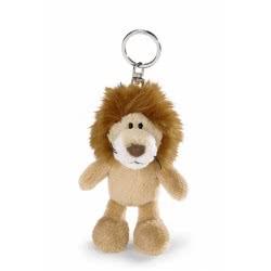Nici Wild Friends Keyring Lion 10 cm - Brown 35235 4012390352351