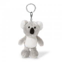 Nici Wild Friends Keyring Koala Kaola 10 Cm - Grey-White 40502 4012390405026