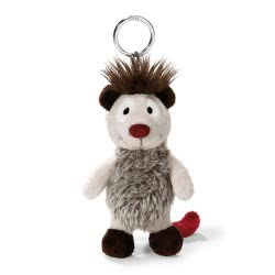 Nici Wild Friends Keyring Opossum Bakaboo 10 Cm - Grey 40503 4012390405033