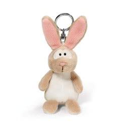 Nici Keyring Plush Rabbit 10 Cm - Beige 805-40556 4012390405569