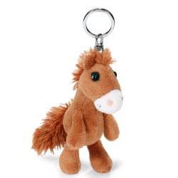 Nici Keyring Plush Horse Foar Little 10 Cm - Brown 805-40575 4012390405750
