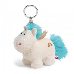 Nici Theodor And Friends Keyring Unicorn Wingfried 10 Cm - White 40092 4012390400922