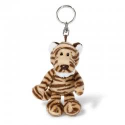 Nici Wild Friends Keyring Tiger Kofu 10 Cm - Brown, Beige 40208 4012390402087
