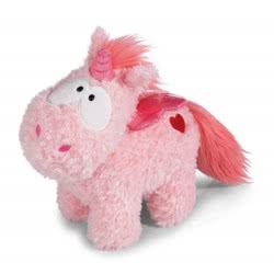 Nici Theodor in Love Unicorn Merry Heart 13 cm - Pink 41783 4012390417838