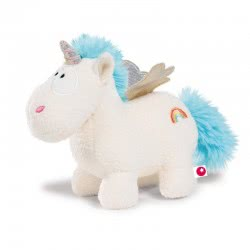 Nici Theodor and Friends Unicorn Wingfried with Wings 13 cm - White 40099 4012390400991